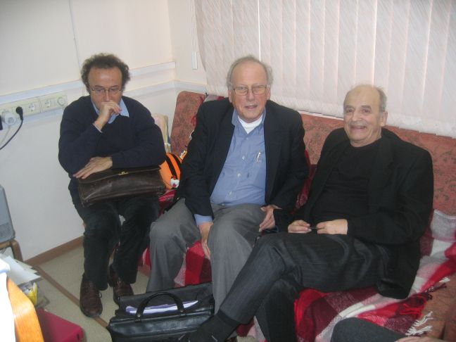 With J.-M. Kantor and L. Graham on 7.12.2011