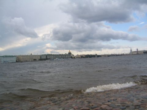 View from the Peter and Paul Fortress